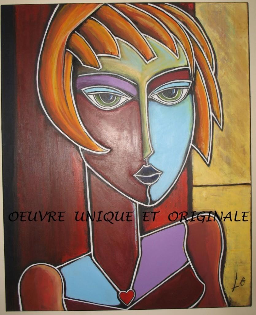 tableau cubiste