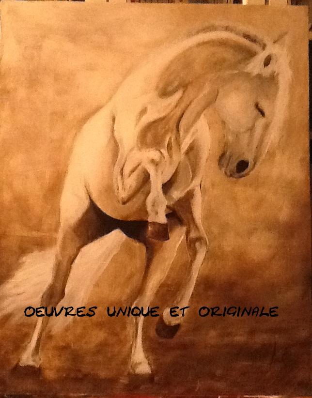 El Caballo. peinture équine